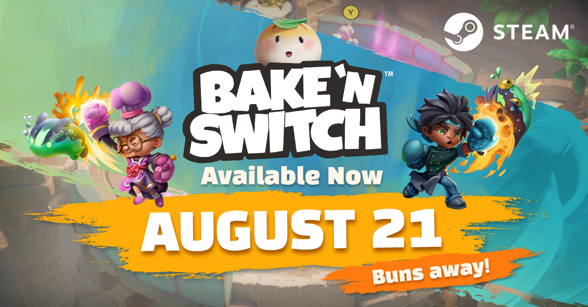 Bake 'n Switch Available on Steam TODAY!