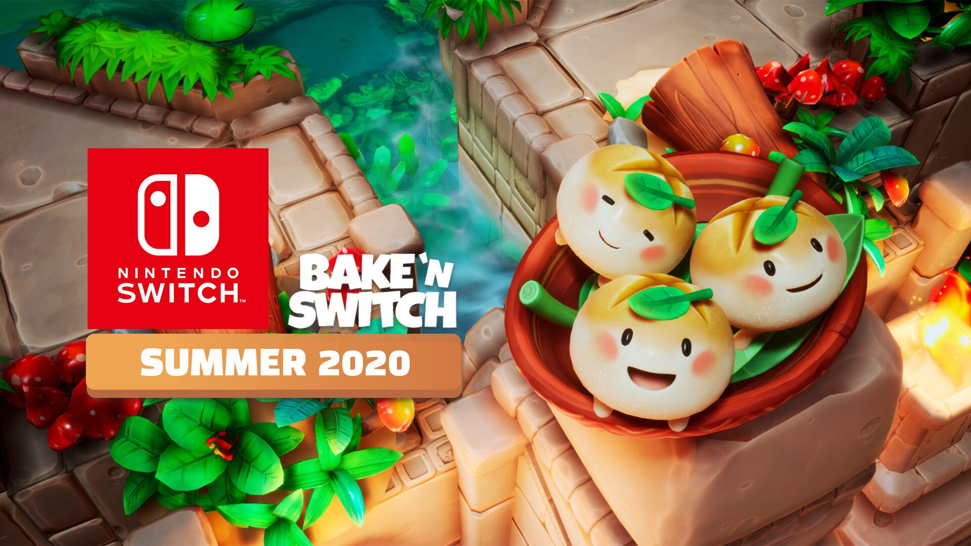 Bake 'n Switch is rising up on Nintendo Switch in Summer 2020!