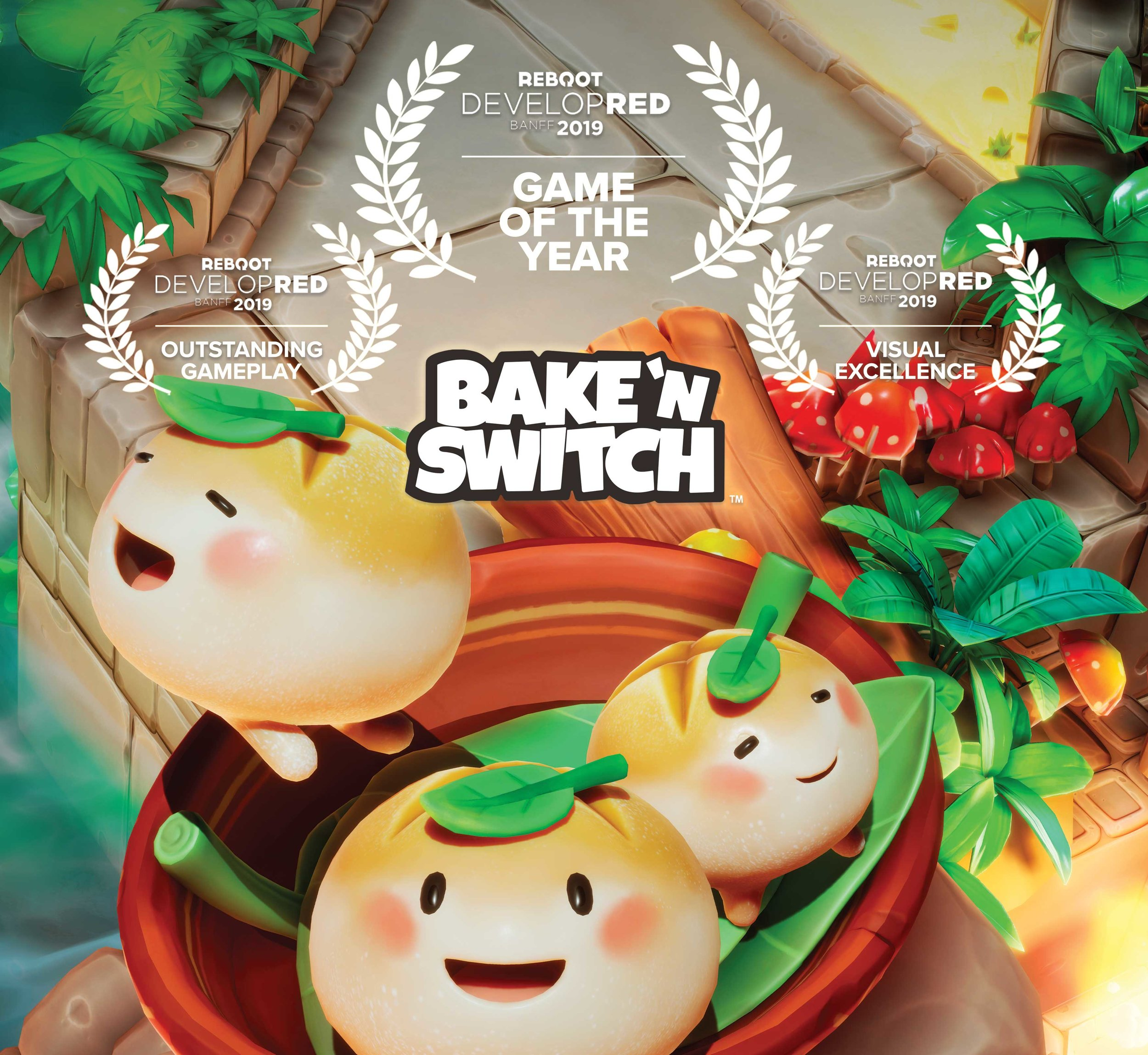Bake 'n Switch takes home Game of the Year at Reboot Develop Red 2019