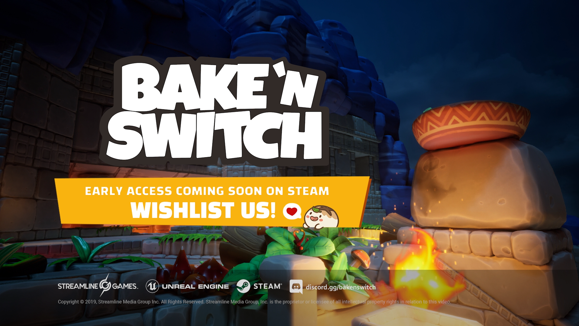 Adorable Dough Creatures Are in for a Bake-Em-Up Beating This Fall - Bake 'n Switch Hits Steam Early Access Later this Year