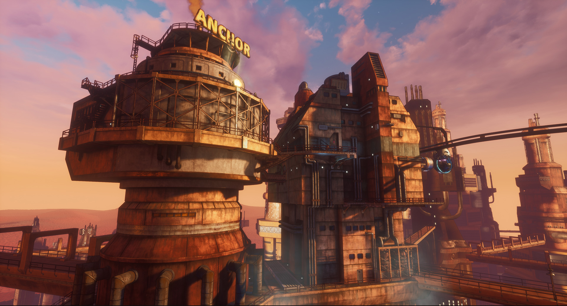 Beyond A Steel Sky - Recycling Centre - Revolution Games