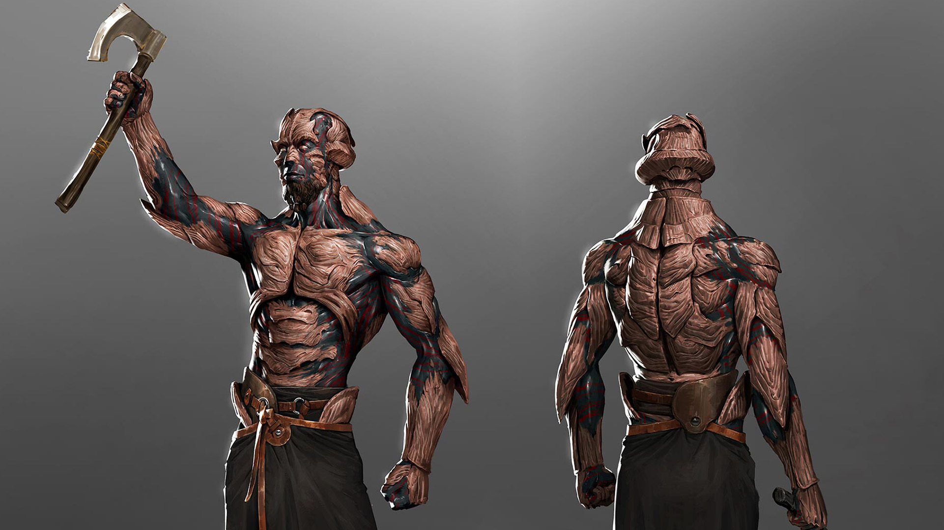 2D Concept Character Parshendi - The Way of Kings - Arcturus