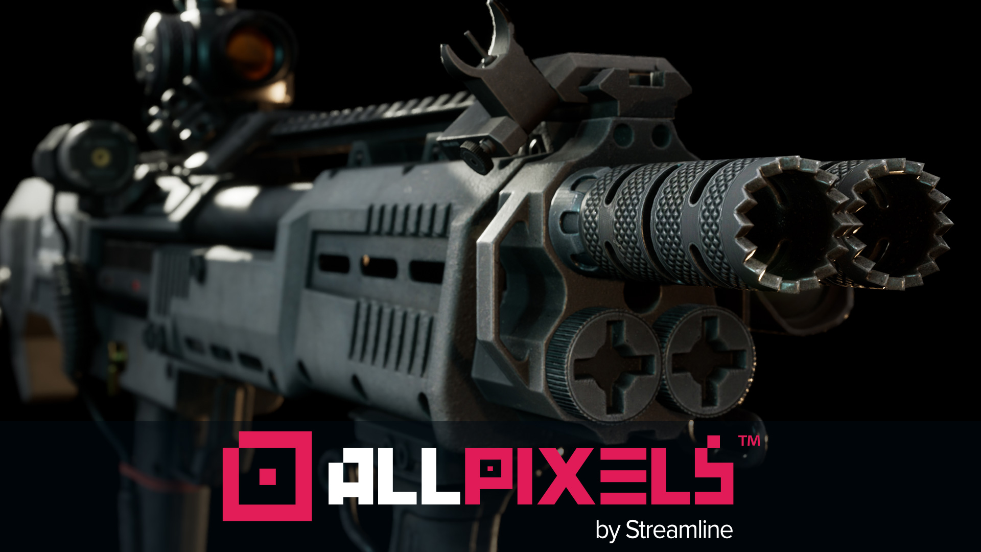 All Pixels - Key Art Partner