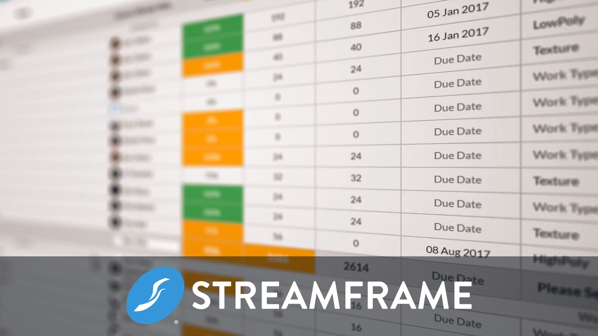 Streamframe - Engineering, Game Tech